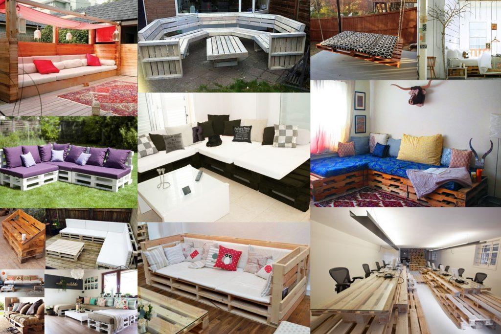 Wooden Pallets Furniture