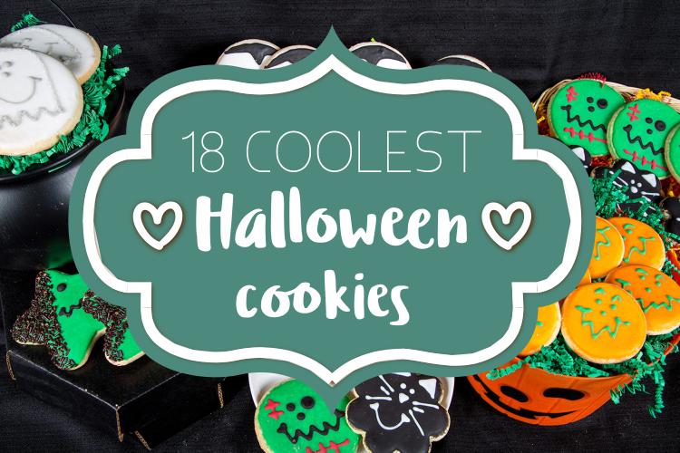 18 Fun and Spookylicious Halloween Cookies