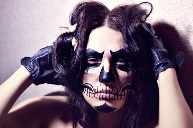 Last Minute Scary Halloween Makeup Ideas