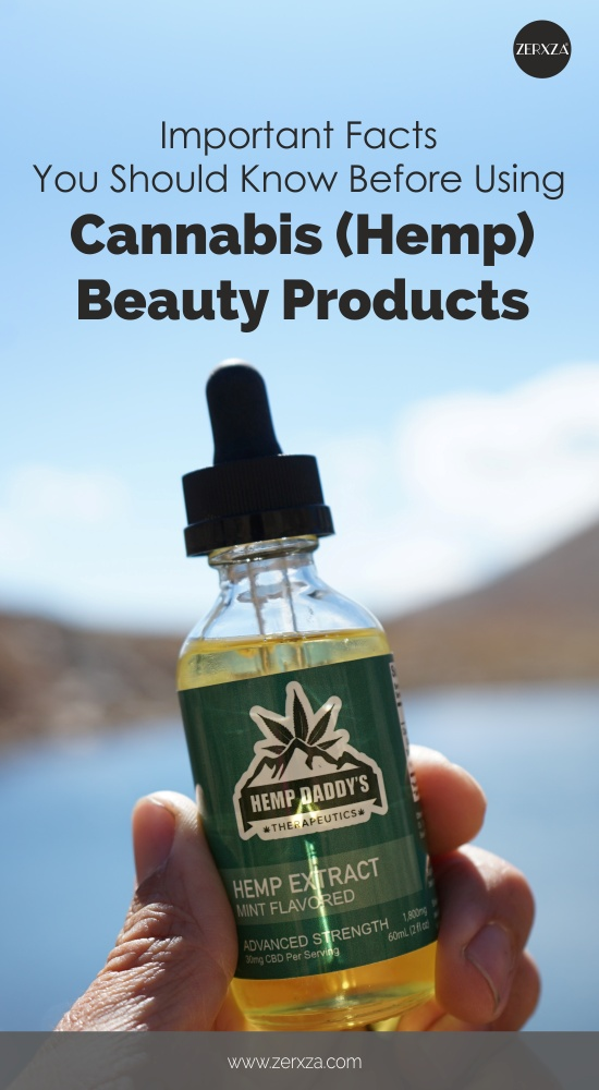 Cannabis Beauty Products - Pros and Cons