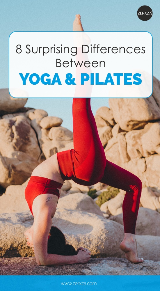 8 Surprising Differences Between Yoga and Pilates