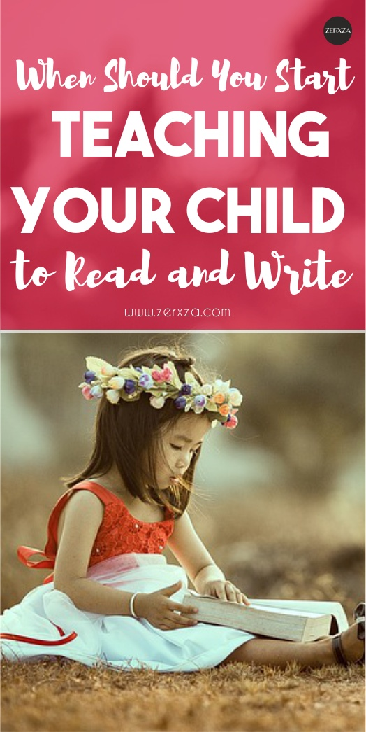 When Should You Start Teaching Your Child to Read and Write