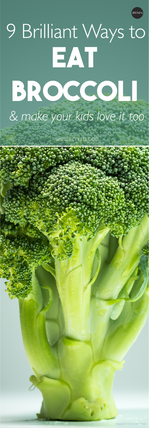 9 Ingenious Ways to Eat Broccoli