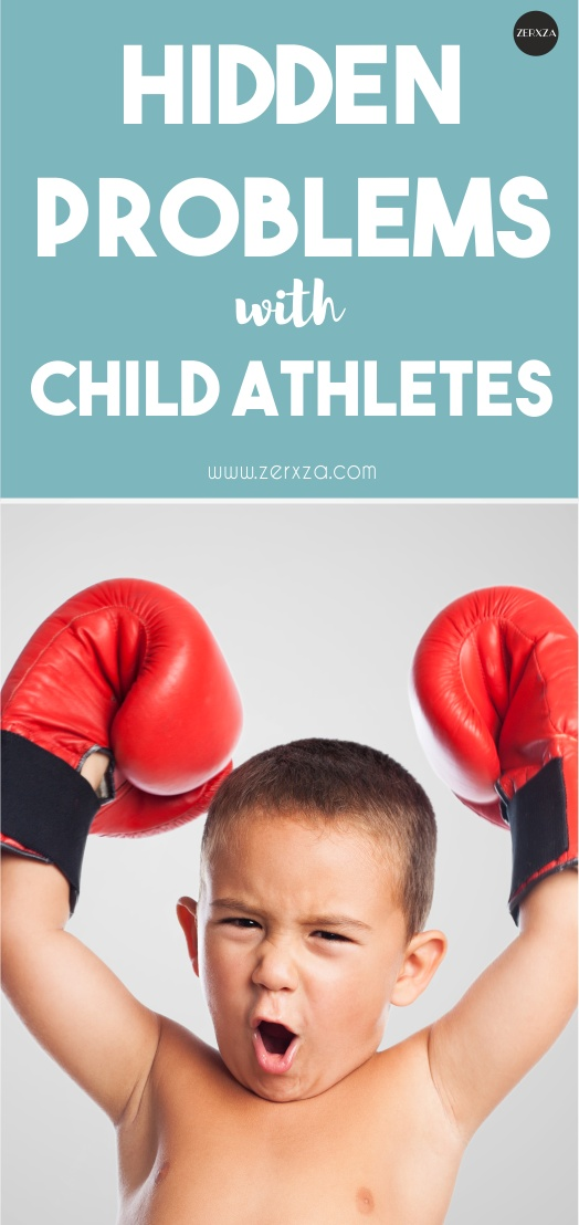 The Hidden Problems with Child Athletes