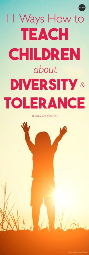 How to Teach Your Children About Diversity and Tolerance