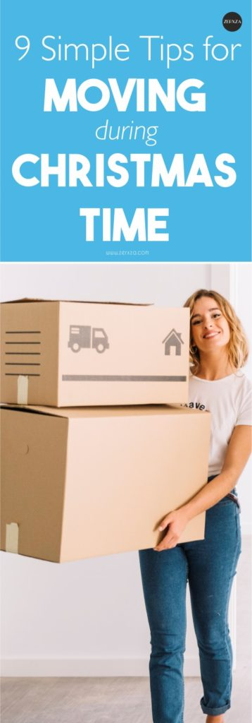 9 Tips for Moving to a New Place During Christmas Time