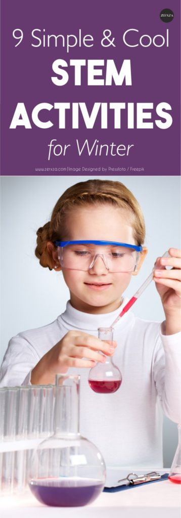 9 simple and cool winter STEM activities for children
