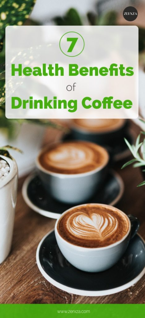 7 Health Benefits of Drinking Coffee