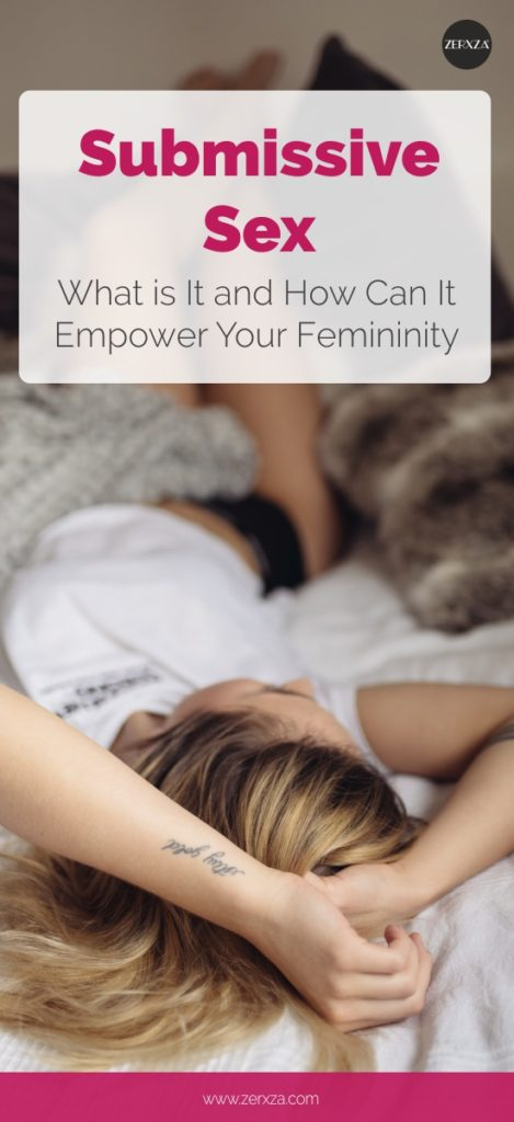 Submissive Sex - What Is It and How can it Empower Your Femininity