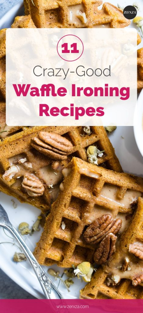 11 crazy (good) waffle-ironing recipes - all about waffle ironing trend