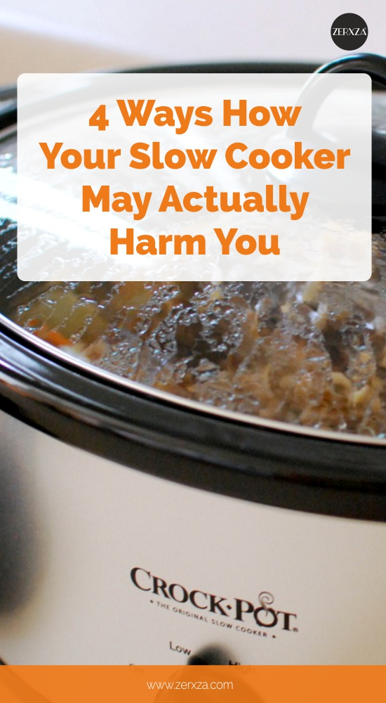 4 Reasons Why Your Slow Cooker May Actually Harm You