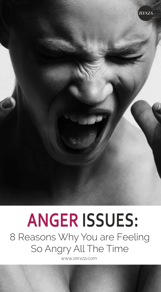 Reasons Why You Are Feeling So Angry All The Time