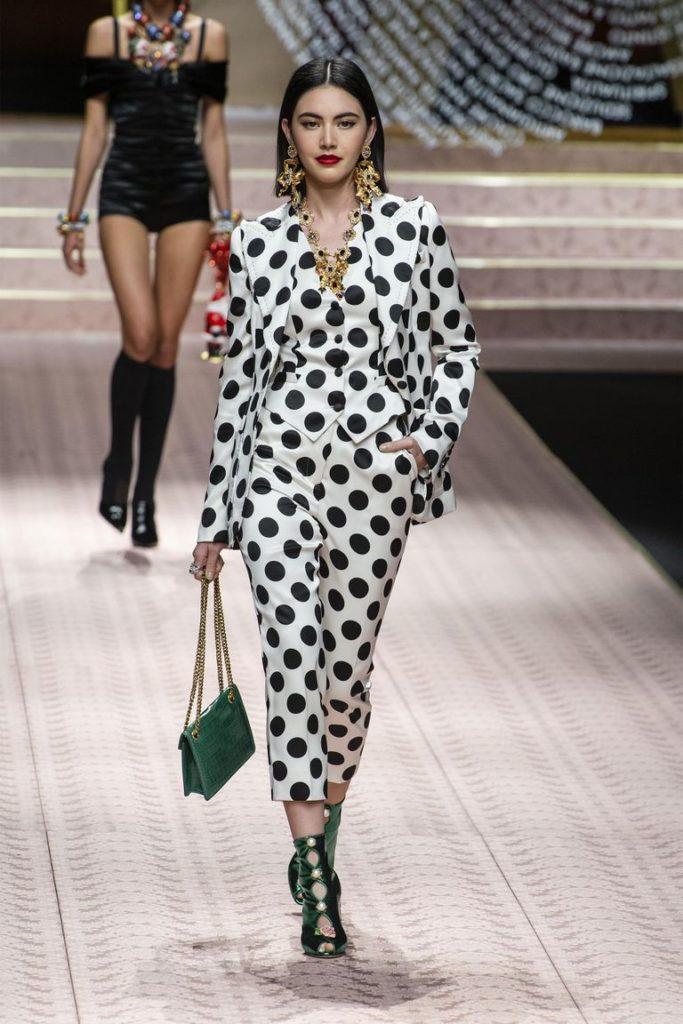 spring-summer-2019-Dolce-Gabbana-Polka-Dots