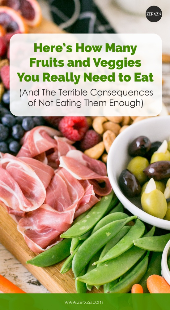 How Many Fruits and Vegetables You Really Need to Eat - Dangers of Not Eating Veggies