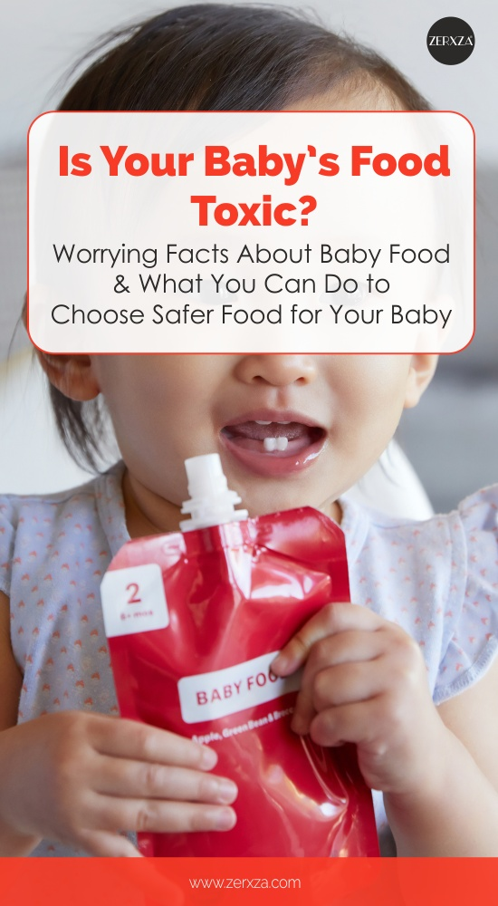 Is Baby Food Dangerous - What to Do to Choose Safer Food for Your Baby