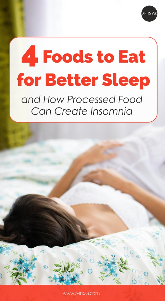 4 Foods to Eat for Better Sleep