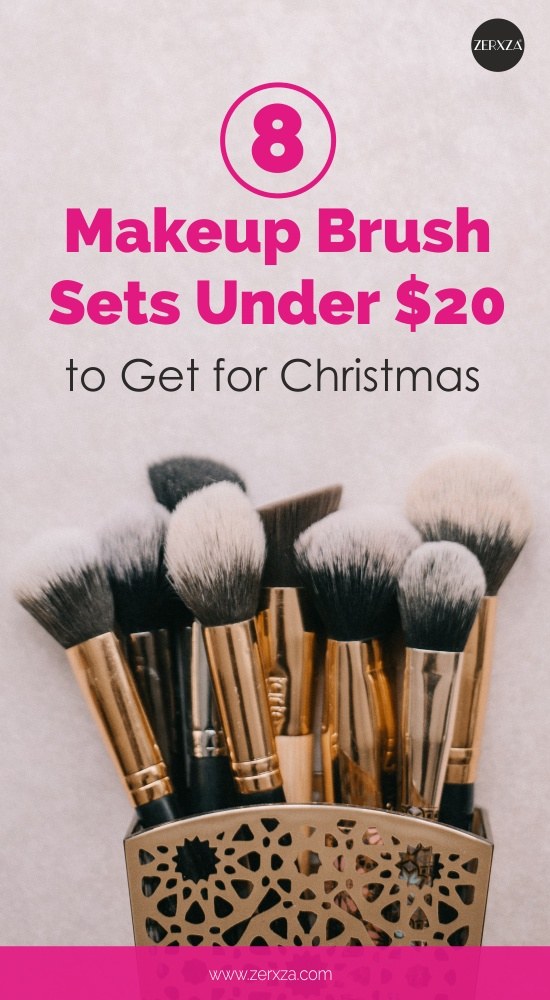 8 Affordable Makeup Brush Sets to Get for Christmas